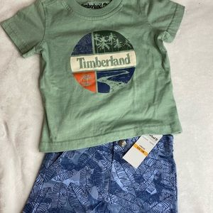 Timberland baby set, size 13 months. NWT